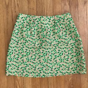 Vintage Floral MOD Skirt